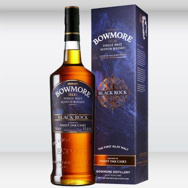 Whisky Bowmore Black Rock 1 LITRO