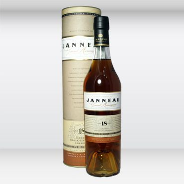 Armagnac Janneau Double Distillation 18 YO